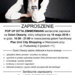 Dzień otwarty POP UP DITTA ZIMMERMANN