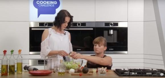 Wiktoria Omyła prosto z parkietu do kuchni Cooking Challenge