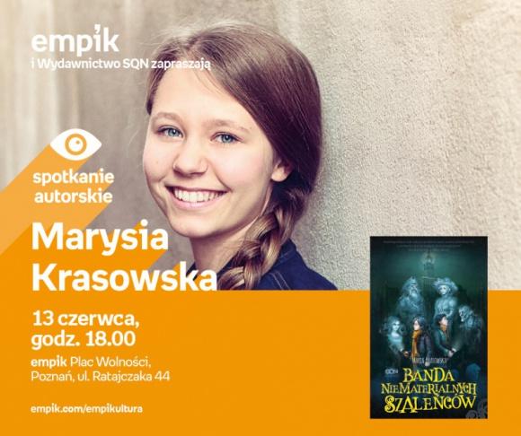 Spotkanie z Marią Krasowską w Poznaniu, 13.06