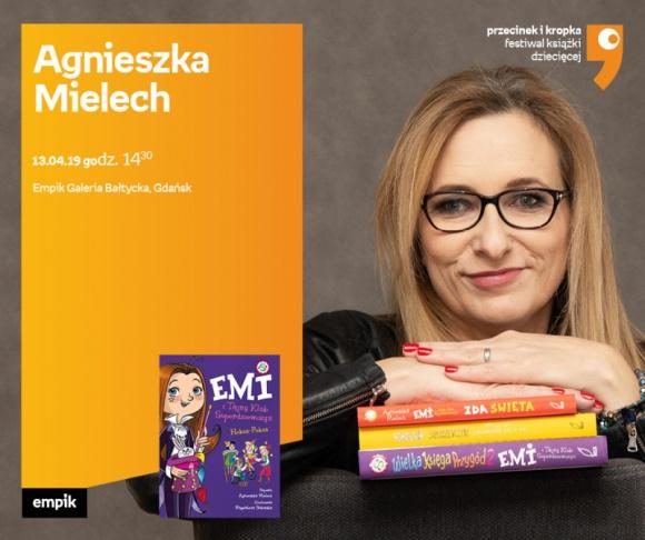 Agnieszka Mielech   Empik Galeria Bałtycka