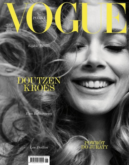 Doutzen Kroes, Sophie Turner, Ewa Balcerowicz – nowy numer Vogue Polska