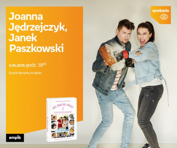 Joanna Jędrzejczyk, Janek Paszkowski – spotkanie autorskie