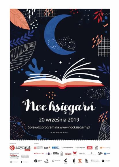 Noc Księgarń. Wielkie święto księgarń i czytelników już 20 września!