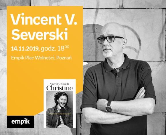 Spotkanie autorskie z Vincentem V. Severskim w Poznaniu