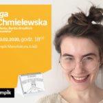 """IGA CHMIELEWSKA (AUTORKA """"BARDZO BRZYDKICH RYSUNKÓW"""") – SPOTKANIE – ŁÓDŹ"""