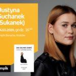 """ODWOŁANE – Justyna Suchanek (""""Sukanek"""") w Empik Bonarka"""