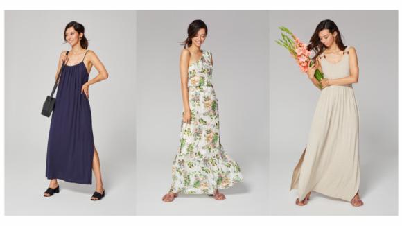 Maxi sukienka na lato w trzech wersjach LIFESTYLE, Moda - Maxi sukienka na lato w trzech wersjach