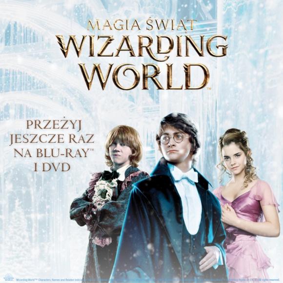"""Magia Świąt Wizarding World LIFESTYLE, Gwiazdy - Nadchodzące święta do doskonały czas na uzupełnienie swojej domowej biblioteki o prawdziwe perły wydawnicze. Kolekcja 10 filmów to wyjątkowy pakiet zawierający w jednym wydaniu 8 filmów z serii """"Harry Potter"""" oraz 2 części serii """"Fantastyczne zwierzęta""""!"""