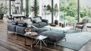 Design sofy , który zbliża